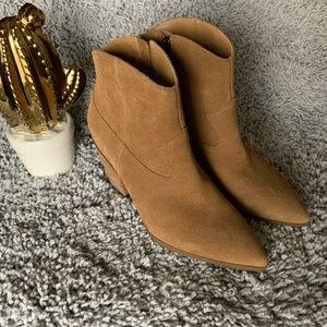 Lucky Brand Suede leather Booties
